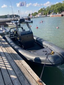 Highfield 760 Patrol -18 (moottorissa takuu voimassa!) Suomi